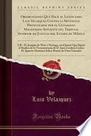 libro Observaciones Que Hace El Licenciado Luis Velazquez Contra La Sentencia Pronunciada Por El Ciudadano Magistrado Suplente Del Tribunal Superior De Justicia Del Estado De México