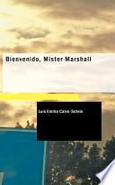 libro Bienvenido, Mister Marshall