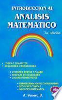 Introducción Al Análisis Matemático