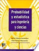 libro Probabilidad Y Estadística Para Ingeniería Y Ciencias