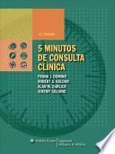libro 5 Minutos De Consulta Clinica