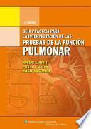 libro Guia Practica Para La Interpretacion De La Pruebas De La Funcion Pulmonar
