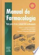 libro Manual De Farmacología