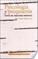 libro Psicología Y Psiquiatría.