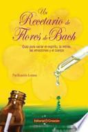 libro Un Recetario De Flores De Bach