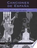libro Canciones De España