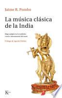 libro La Música Clásica De La India