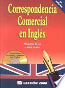 libro Correspondencia Comercial En Inglés
