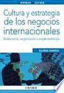 libro Cultura Y Estrategia De Los Negocios Internacionales