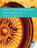 libro Dirección De La Producción Y De Operaciones