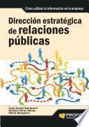libro Dirección Estratégica De Relaciones Públicas