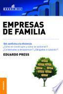 libro Empresas De Familia