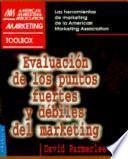libro Evaluación De Los Puntos Fuertes Y Débiles Del Marketing