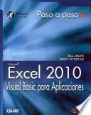 libro Excel 2010. Visual Basic Para Aplicaciones
