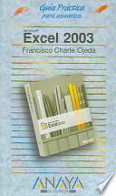 libro Excel Dos Mil Tres