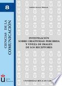 libro Investigación Sobre Creatividad Percibida Y Viveza De Imagen De Los Receptores