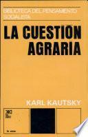 libro La Cuestión Agraria