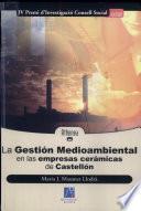 libro La Gestión Medioambiental En Las Empresas Cerámicas De Castellón