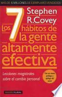 libro Los 7 Habitos De La Gente Altamente Efectiva / The Seven Habits Of Highly Effective People
