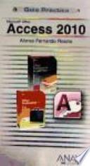 libro Microsoft® Office Access 2010