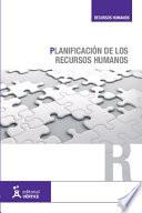 libro Planificación De Los Recursos Humanos
