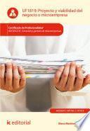 libro Proyecto Y Viabilidad Del Negocio O Microempresa. Adgd0210