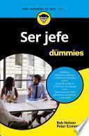 libro Ser Jefe Para Dummies