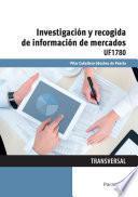 Uf1780   Investigación Y Recogida De Información De Mercados