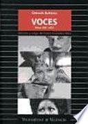 libro Voces (ritmo, 1987 2000)