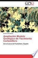 libro Ampliación Modelo Geológico De Yacimiento Carbonífero