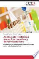 libro Análisis De Pesticidas N Metilcarbamatos Y Benzimidazólicos