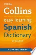 libro Collins Easy Learning Spanish Dictionary
