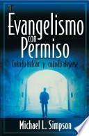 libro Evangelismo Con Permiso