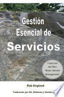 libro Gestión Esencial De Servicios