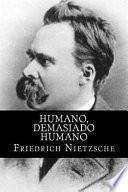 libro Humano, Demasiado Humano (spanish Edition)