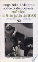 libro México, El 6 De Julio De 1988