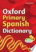 libro Oxford Primary Spanish Dictionary