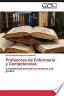 libro Profesores De Enfermería Y Competencias