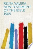 libro Reina Valera New Testament Of The Bible 1909