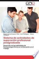 Sistema De Actividades De Superación Profesional Postgraduad