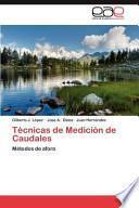 libro Técnicas De Medición De Caudales