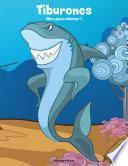 libro Tiburones Libro Para Colorear 1
