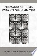 libro Poemario Sin Rima Para Un Niño Sin Voz