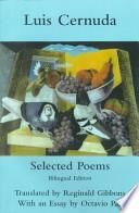 libro Selected Poems Of Luis Cernuda