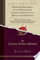 libro Bosquejo Historico De Los Principales Acontecimientos De La Revolucion Francesa, Vol. 3