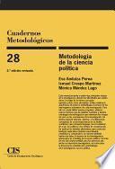 libro Metodología De La Ciencia Política