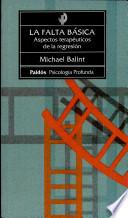 libro La Falta Básica