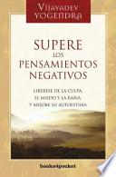 libro Supere Los Pensamientos Negativos / Overcoming Negative Feelings