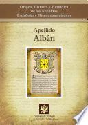 libro Apellido Albán