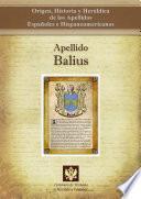 libro Apellido Balius